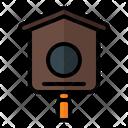 Bird House Birdcage Nest Icon