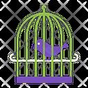 Cage Bird Animal Icon