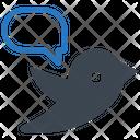 Bird Social Media Tweet Icon