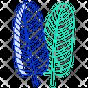 Bird Of Paradise Leaf Icon