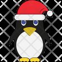 Bird Snow Bird Santa Santa Clause Icon