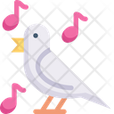 Bird sing Icon