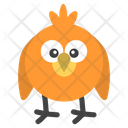 Bird Smiley Icon