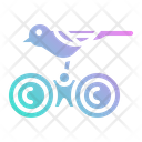 Binoculars Birdwatching Hobby Icon