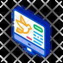 Bird Computer Screen Icon