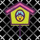 Birdhouse Nest Chicken Icon
