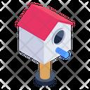 Birdhouse Bird Home Nesting Box Icon