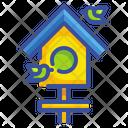 House Bird Animal Nature Spring Seasonbird House Birdhouse House Icon