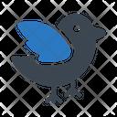 Birds Sparrow Fly Icon