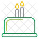 Birthday Cake Candles Icon