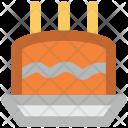 Birthday Cake Anniversary Icon