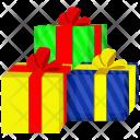 Birthday Box Celebration Icon