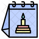Birthday Cake Party Icon