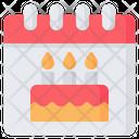 Birthday Celebration Anniversary Icon