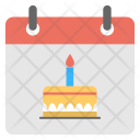 Birth Date Calendar Icon