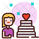 Birthday Girl Birthday Birthday Girlbirthday Cake Icon