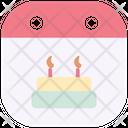 Birthday Cake Event Icon