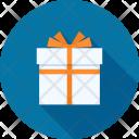 Birthday Box Christmas Icon