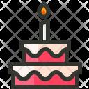 Birthday Cake Dessert Icon