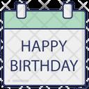 Birthday Happy Birthday Happy Icon