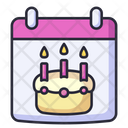 Birthday Party Celebration Icon