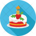 Birthday Cake Present Icon