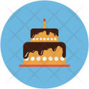 Birthday Cake Dessert Icon