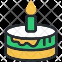 Birthday Cake With Icon