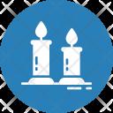Birthday Candles Romantic Icon