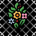 Birthday Bouquet Icon
