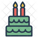 Birthday Cake Sweet Icon