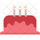 Birthday Cake Candle Icon