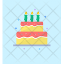 Birthday Cake Cake Sweet Cake Icon