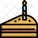Cake Cheese Piece Icon