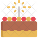 Cake Party Birthday Icon