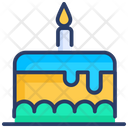Cake Desert Birthday Icon