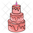 Birthday Cake Christmas Cake Chocolate Cake Icon