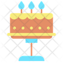 Ibirthday Cake Birthday Cake Wedding Cake Icon