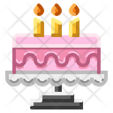 Cake Sweet Birthday Icon