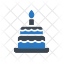 Birthday Cake Party Icon