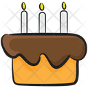 Birthday Cake Cake Sweet Cake Icon