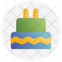 Christmas Cake Birthday Icon