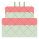 Cake Birthday Dessert Icon