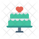 Cake Birthday Party Icon