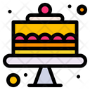 Birthday Cake Cake Sweet Icon