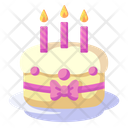 Birthday Cake Celebration Party Icon