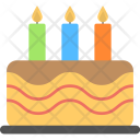 Birthday Cake Confectionery Icon
