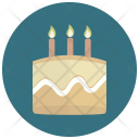 Birthday Cake Sweet Icon