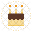 Cake Birthday Bakery Icon