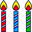 Birthday Candles Wishes Icon